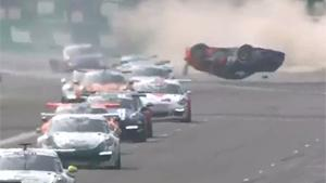 Big Crash At Porsche Supercup In Monza