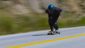 Skateboard Speed Record Attempt