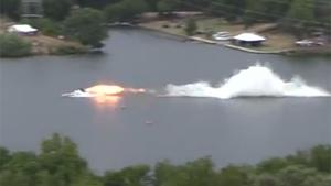 Drag Boat Crash At 260 MPH