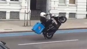 Delivery Boy Crashes