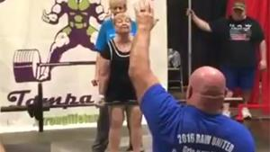 80-Year Old Deadlifts 150 Pounds