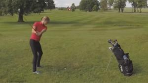 Frustrated Golf Player Smashes Drone