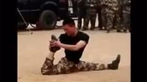 Soldier With Contortionist Skills