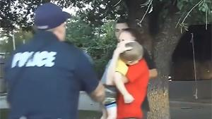Cop Saves Young Kid's Life