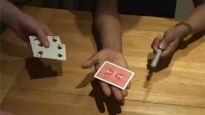 Epic Card Trick Blows Dudes Mind