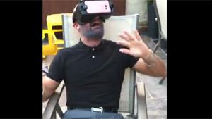 Freaking Out With Virtual Reality Headset