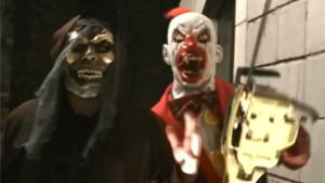 Killer Clowns Scaring Girls