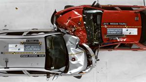 Crashtest Between Nissans