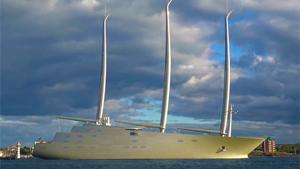 The worlds Largest Sailing Yacht