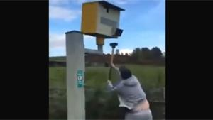 Taking Revenge On Speed Camera