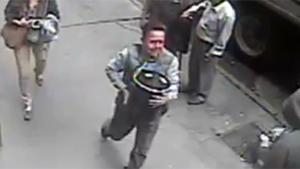 Man Steals Bucket Of Gold