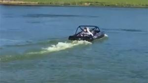 Extreme Fast Rotor Boat