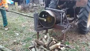 Cutting Fire Wood