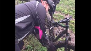 Bike Stuck In Electric Fence