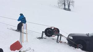 Super Fast DIY Ski Lift