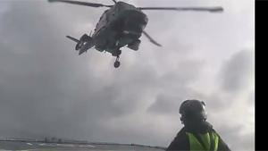 Landing A Helicopter In Bad Weather
