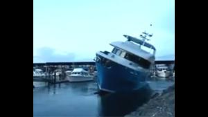 Yacht Launch Goes Terribly Wrong