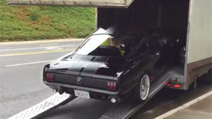 Restored Classic Mustang Transport Fail