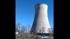 Evaporator Tower Demolition