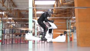 Flying The Hoverbike