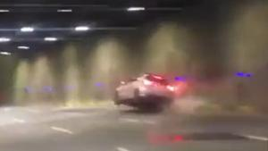 Street Race Ends In Sparks