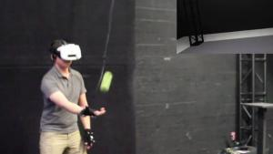 Catching A Ball In Virtual Reality