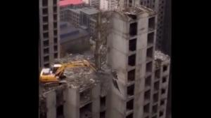 Crazy Demolition In China