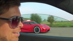 Koenigsegg Agera Leaves Ferrari 458 In The Dust