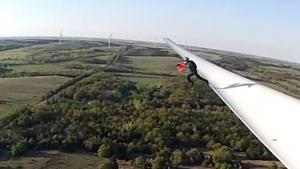 Base Jump From Wind Turbine