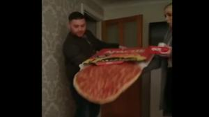 Dropping Massive Pizza