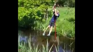 Pole Stick Jump Fail
