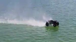 RC Car Drives On Water