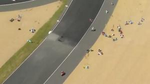 Massive Crash At Moto 3 GP
