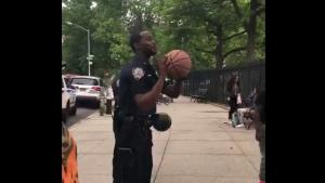 Police Officer Owns The Hood