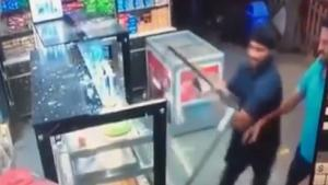 Settling Dispute With Shop Owner