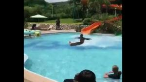 Epic Water Slide Exit