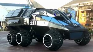 NASA Unveils Their Batmobile For Mars