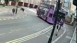 Man Gets Run Over By Bus