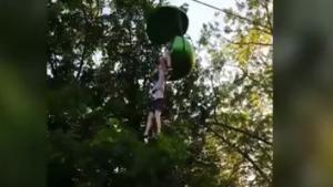 Girl Falls From Theme Park Ride