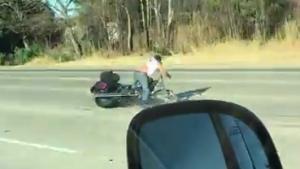 Biker Gets Worst Road Rash Ever