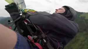 Terrifying Paraglider Accident