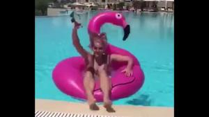 Floating Flamingo Fail