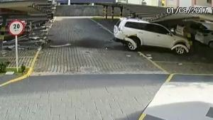 Grandma Creates Havoc In Parking