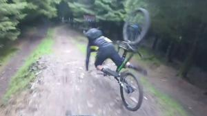 BMX Trail Turns Out To Be Too Hard