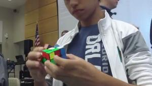 New Rubik's Cube World Record
