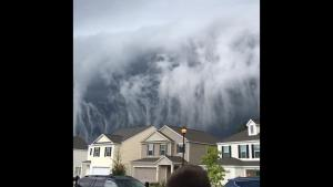 Creepy Clouds Look Like Massive Tsunami