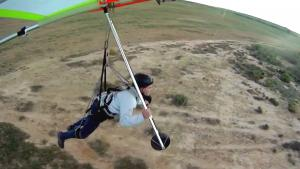 Hang Glider Landing Crash