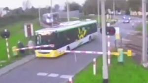 Train Hits Bus