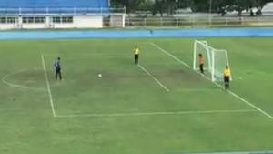 Bizarre Penalty Fail (Or Win)