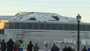 Demolition Of The Georgia Dome Part I